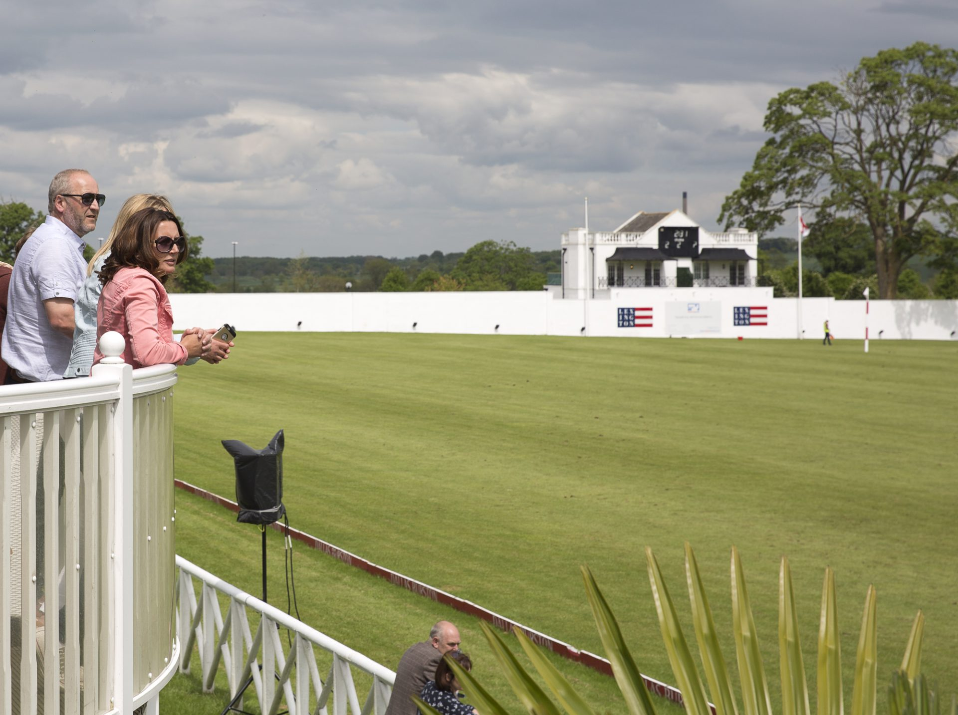 Dallas Burston Polo Club - View out to Polo Game