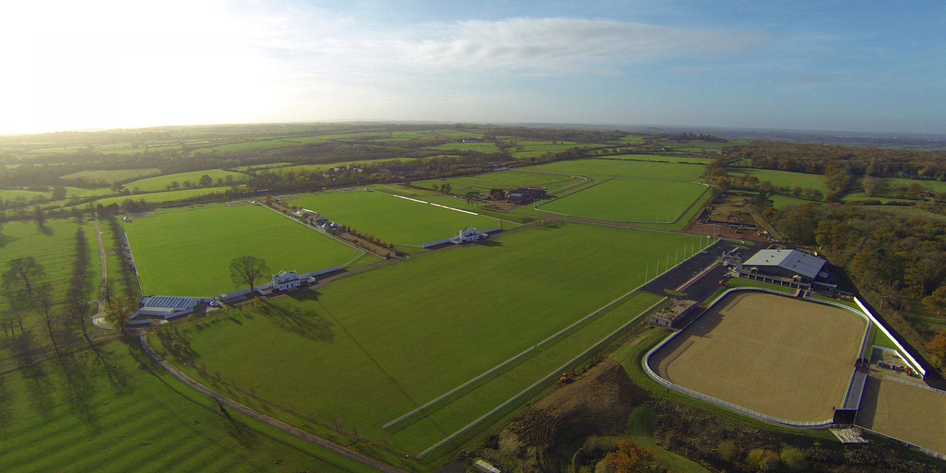 aerial view of Dallas Burston Polo Club