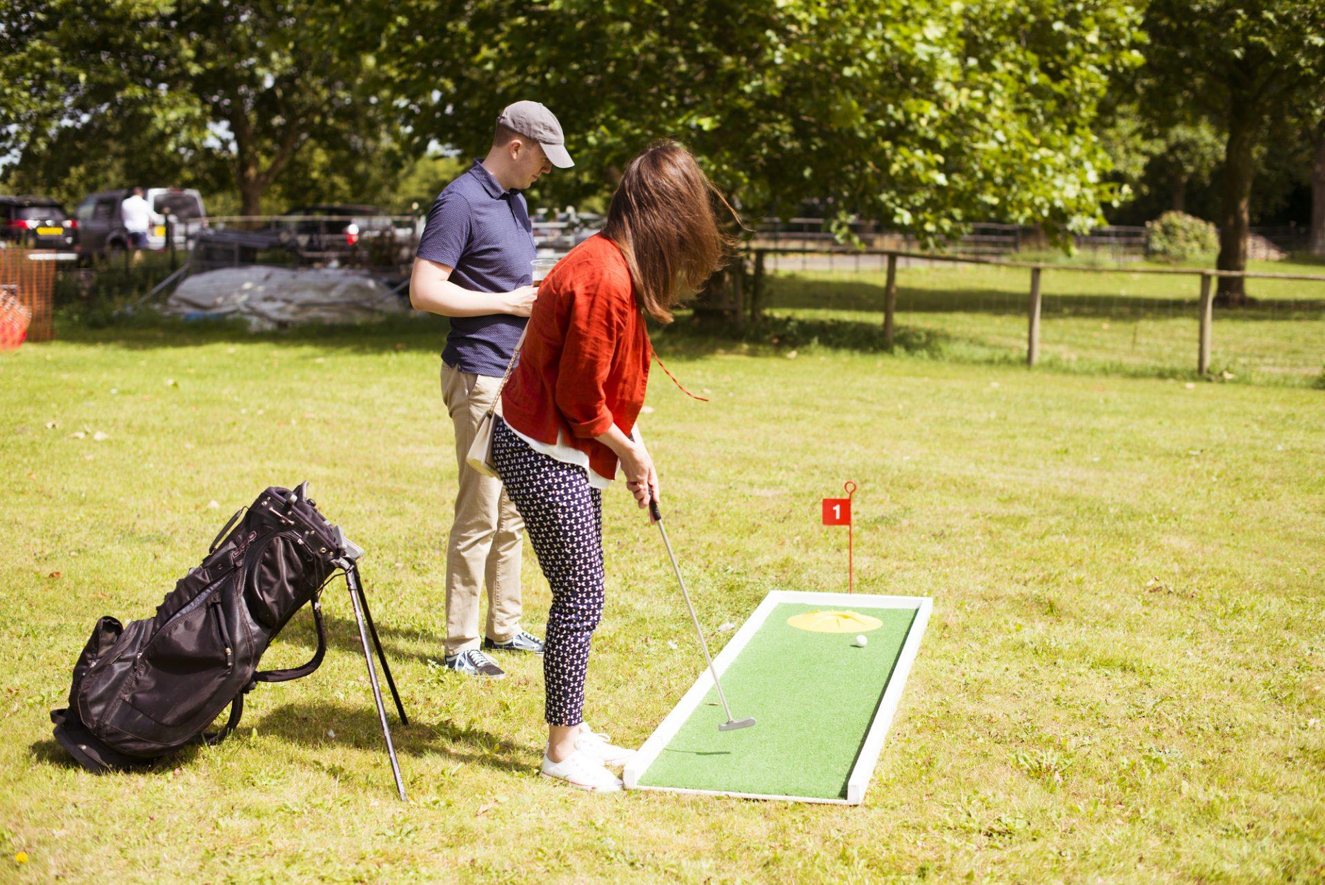 Mini Golf at Dallas Burston Polo Club