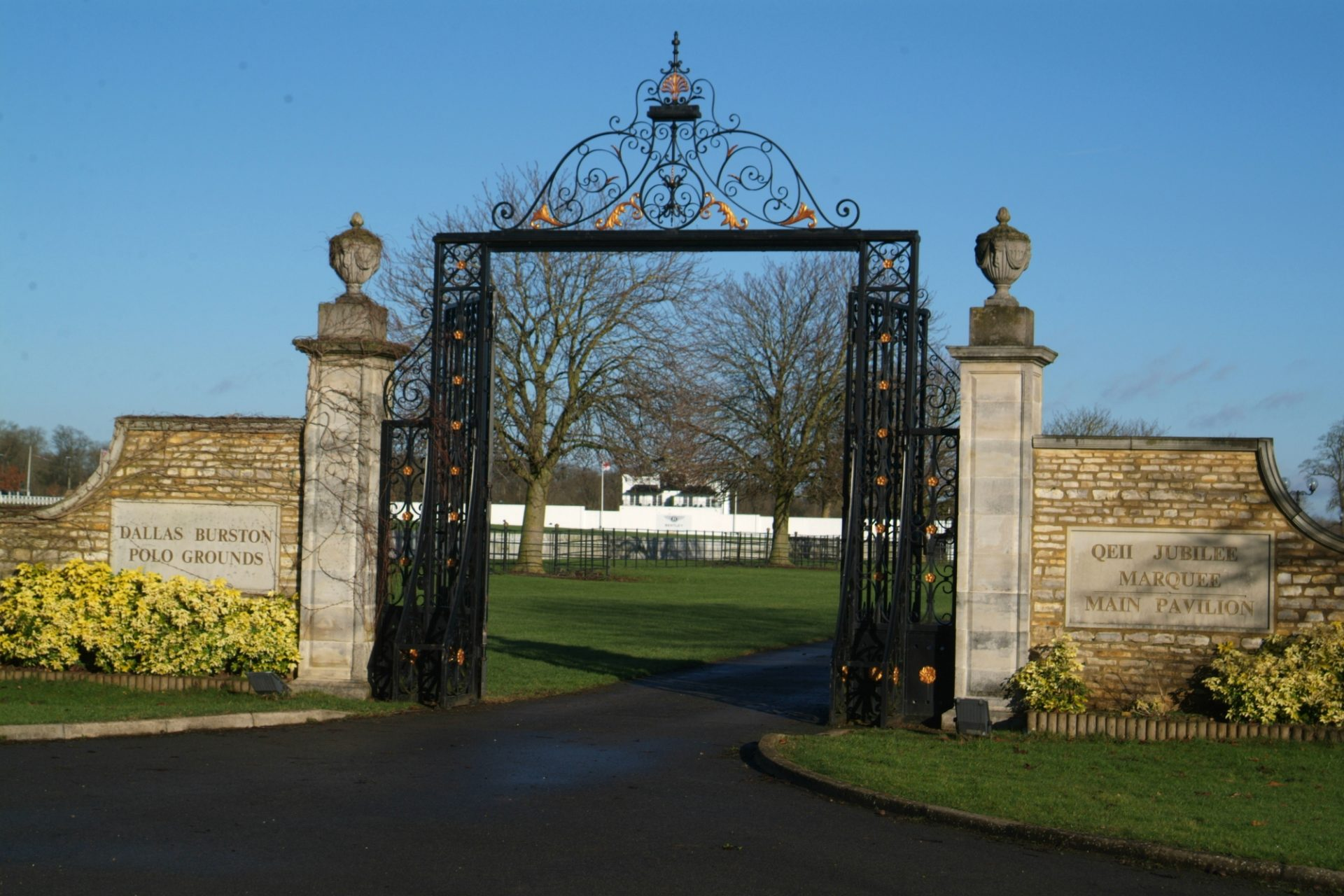 Dallas Burston Polo Club Entrance