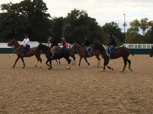 Group polo lessons for the original corporate activities