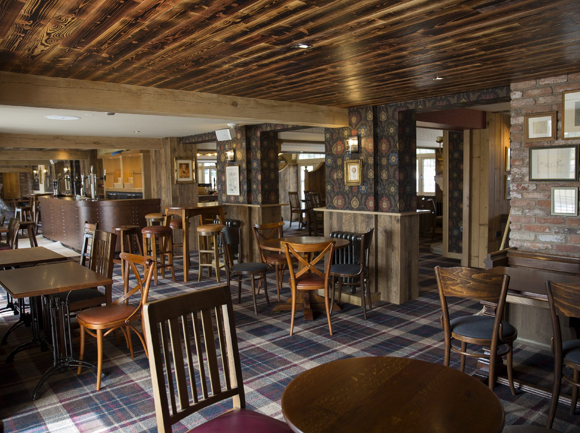 Millstone Hare Country Pub - with an old English pub feel