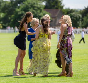 ladies day 2019 - ladies on the pitch