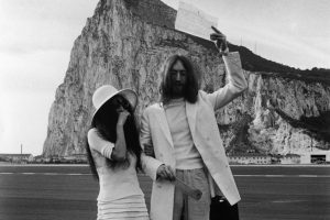 John and Yoko celebrity weddings