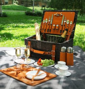 Luxury picnics for events, Aston Martin