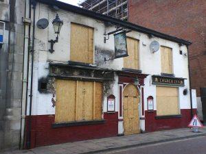 Closed UK Pub
