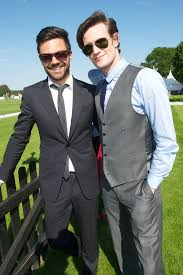 Matt Smith Famous Face at the Polo