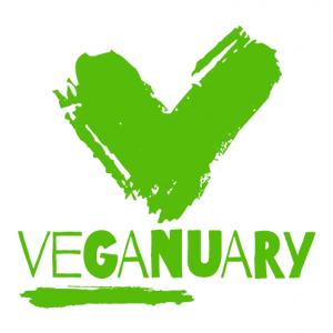 veganuary logo - going vegan
