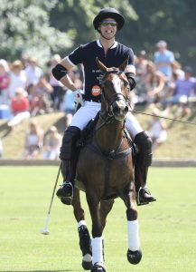 Prince William Left handed polo player
