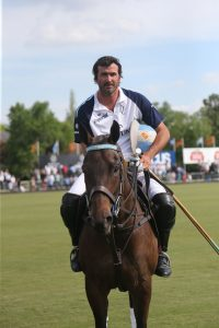 Adolfo Cambiaso - Mounted on Polo Pony