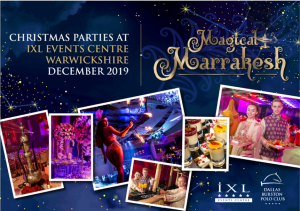 Christmas party time 2019 - Magical Marrakesh
