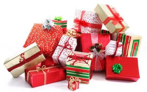 Christmas Top Tips - pile of gifts