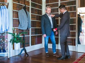 Richard George Tailoring - measuring up